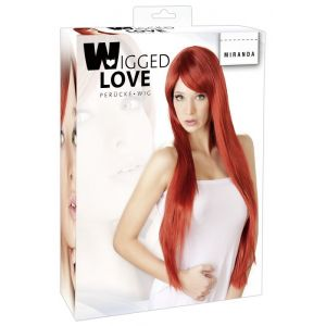 LONG RED HAIR WIG MIRANDA