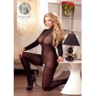 CATSUIT WITH LACE COLLAR XL/2XL