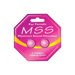 MAXIMUM SEXUAL STIMULANT FOR FEMALE - 2 X 550MG TABLETS