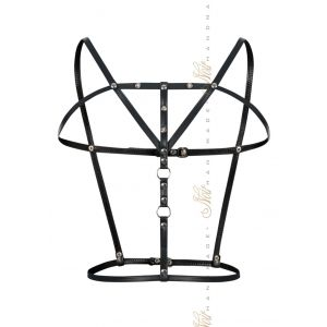 NOIR HANDMADE ECO-LEATHER HARNESS