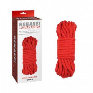 BIND LOVE ROPE RED