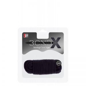 BONDX LOVE ROPE - 10M BLACK