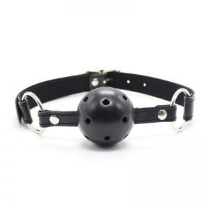 BREATHABLE GAG BALL - BLACK