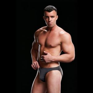 LOW RISE MOONSHINE BRIEF - GREY