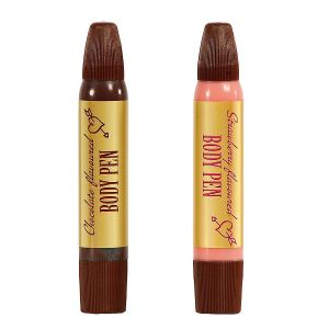 BODY PEN 2PCS SET CHOCO/STRAWBERRY