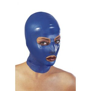 BLUE LATEX HOOD