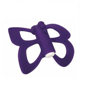 TOY JOY BUTTERFLY FINGER MASSAGER - LILAC