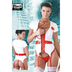 BLACK LEVEL VINYL NURSE SET