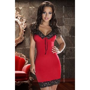 AVANUA NATASHA DRESS RED