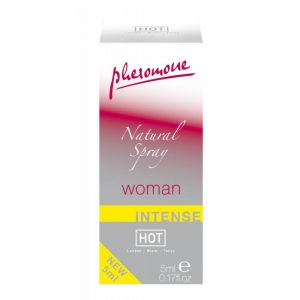 HOT WOMAN PHEROMON NATURAL SPRAY  INTENSE 5ML