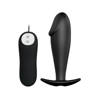 PRETTY LOVE VIBRATING PENIS SHAPED BUTT PLUG