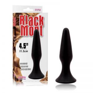 BLACK MONT L SILICONE PLUG