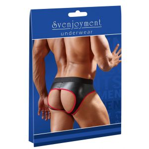 JOCK BRIEFS WITH RED TRIM