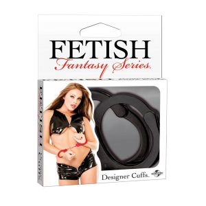FETISH FANTASY SERIES DESIGNER CUFFS BLACK