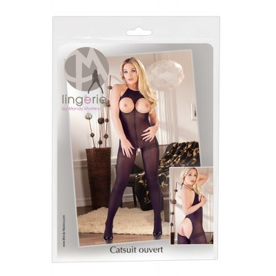 MANDY MYSTERY  BOOBLESS AND BACKLESS CATSUIT