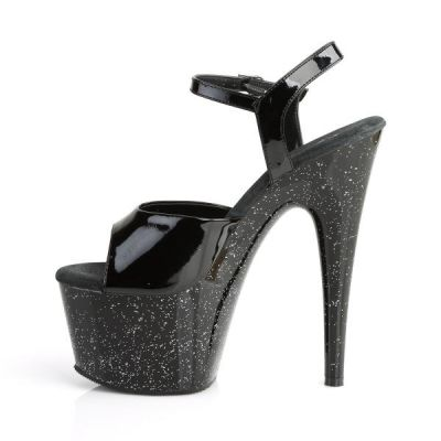 PLEASER ADORE-709MG PLATFORM WITH MINI GLITTERS