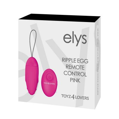 ELYS – RIPPLE EGG REMOTE CONTROL PINK