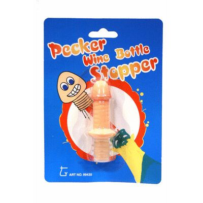 PECKER WINE BOTTLE STOPPER