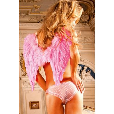 BABY PINK HEART FRENCH CUT BIKINI PANTIES