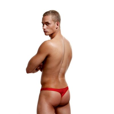 LOW RISE THONG ENVY RED