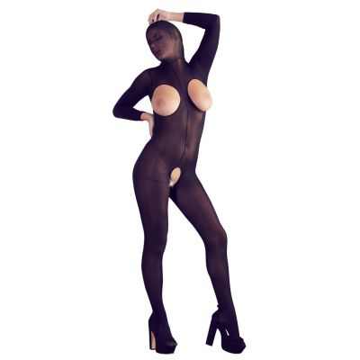 BLACK MASK CATSUIT