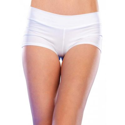 SPANDEX BOY SHORTS WHITE