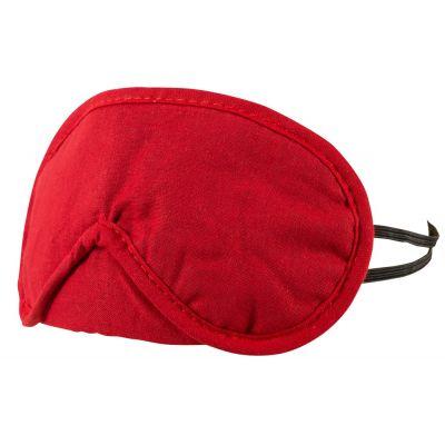BLINDFOLD SET PACK OF 2 RED/BLACK