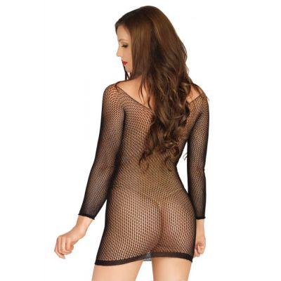 LEG AVENUE - RING NET MINI DRESS