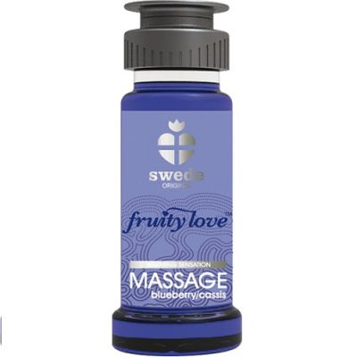 FRUITY LOVE MASSAGE- BLUEBERRY/CASSIS 50 ML